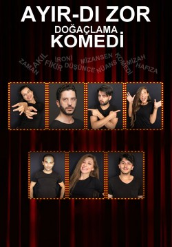 2018-12-19 20:30:00 Ayır-dı Zor Doğaçlama Tiyatro