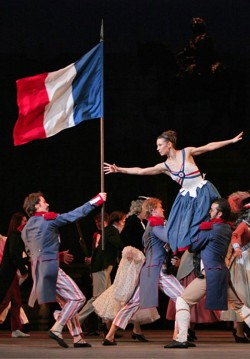 Bolshoi Balesi Gösterimleri: Paris'in Alevleri