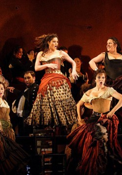 2018-04-16 Royal Opera House Gösterimi: Carmen