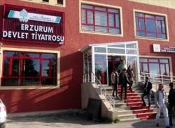 Erzurum Devlet Tiyatrosu Sahnesi