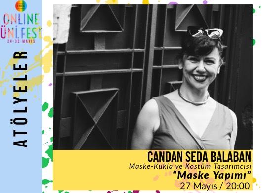 """Candan Seda Balaban / Maske Yapımı """"Online Atölye"""""""
