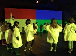 Colours in Motion Atölyesi (MiraMiró gösteri temalı atölye)